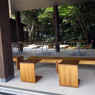 カフェの空間の画像