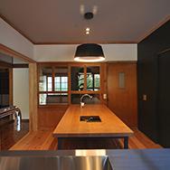 キッチンから見える眺め