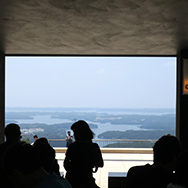 1階から見える風景
